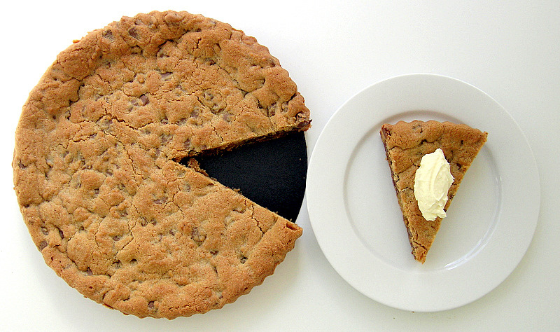 Receta de Cookie Cake (Tarta de Galleta)