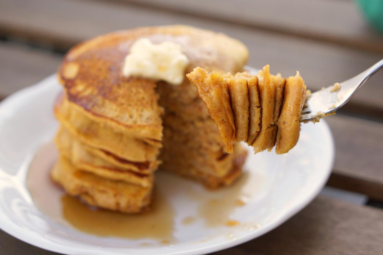 Tortitas de Calabaza (Pumpkin Pancakes)