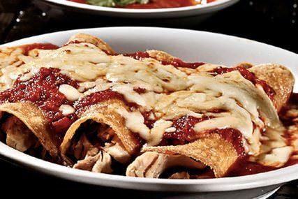 Enchiladas de pavo (Recalentado Navideño)