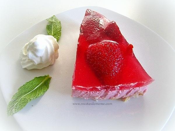 Tarta de fresas/frutillas