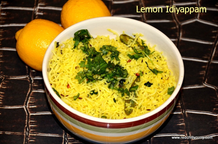 Lemon Idiyappam / Lemon Sevai