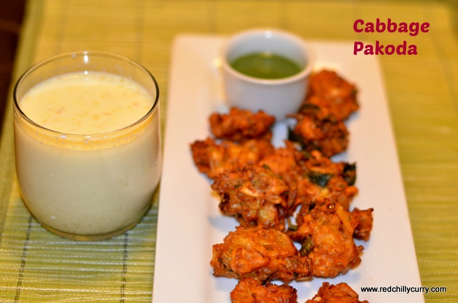 Cabbage Pakoda