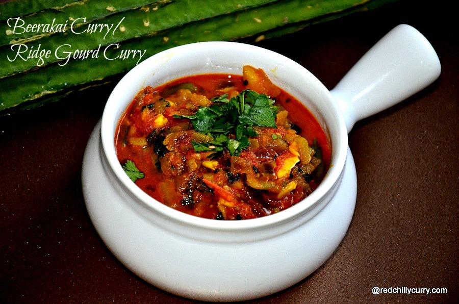 Beerakaya Curry(Andhra Recipe)