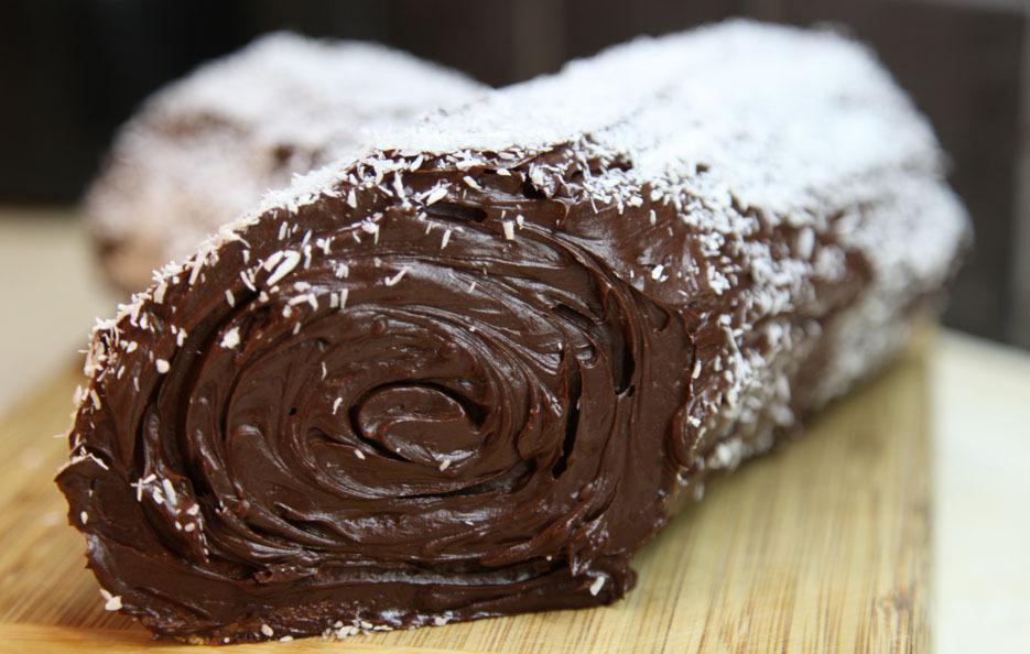 Karácsonyozzunk- Fatörzs torta, Raffaello, és Habos csokis torta