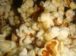 Confites de palomitas de maiz