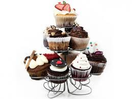 Queque americano o cupcakes, para celíacos