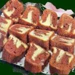 Receta de postre: Torta marmolada