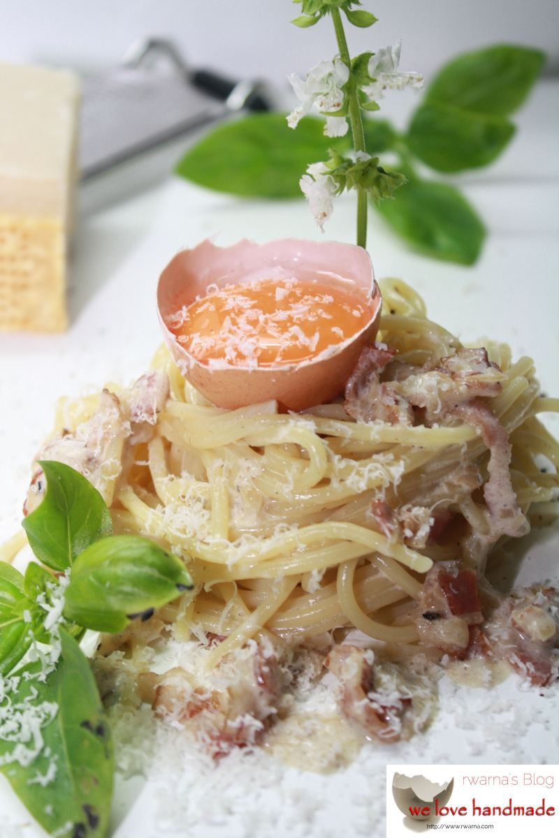 Spaghetti Carbonara-einfacher geht's nicht