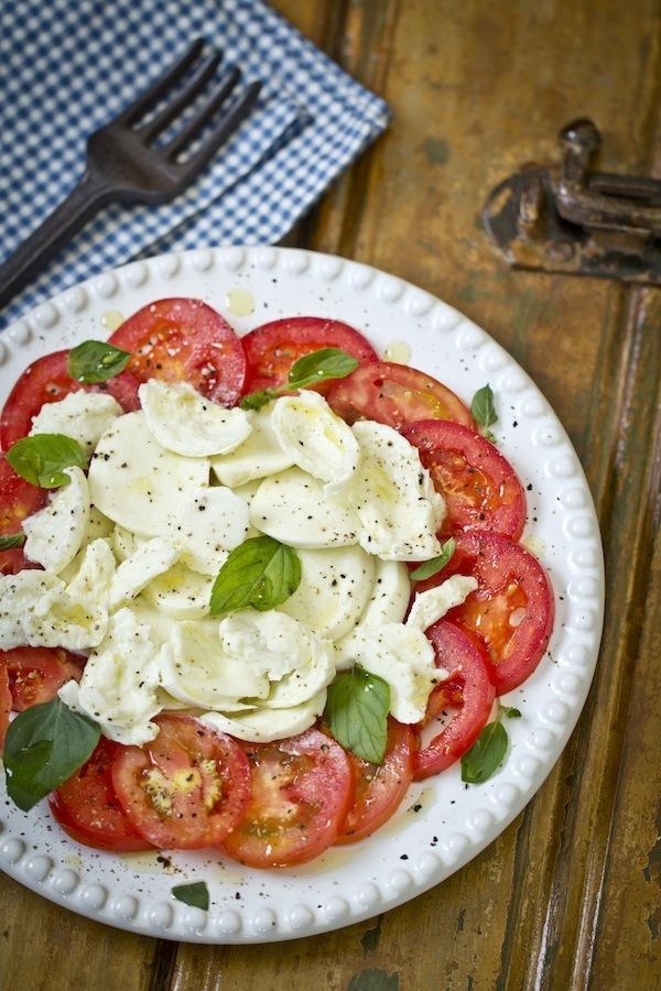 Salada Caprese, Todo Dia uma Receita Diferente