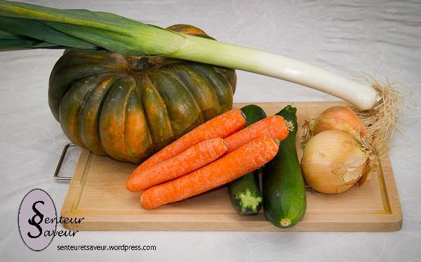 Velouté de potiron… et autres légumes…