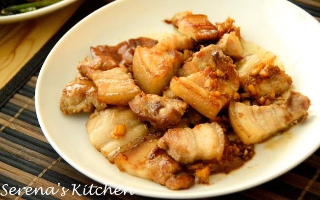 [日式食譜]薑燒豬五花肉