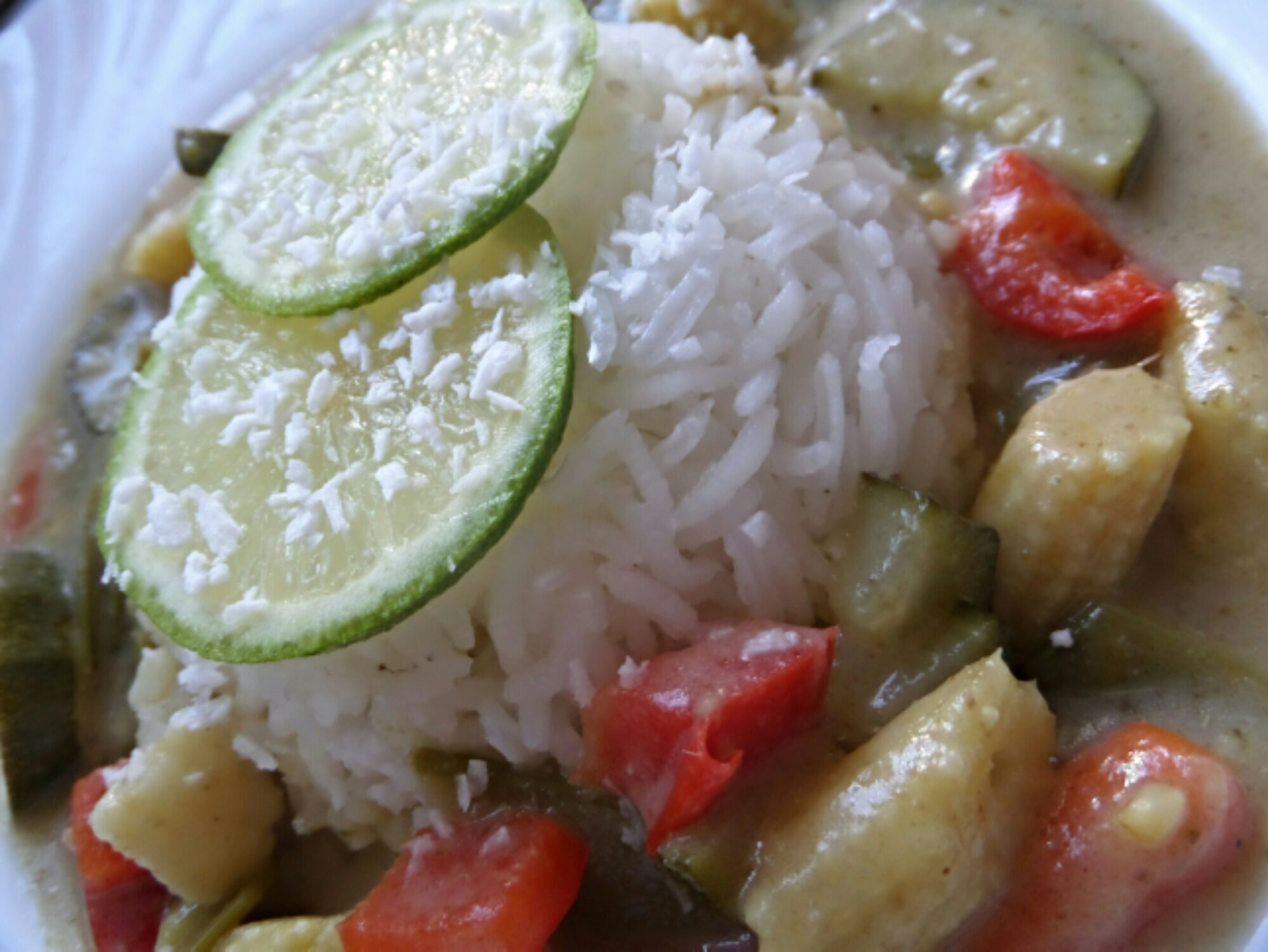 Coconut & Lime Green Thai Curry