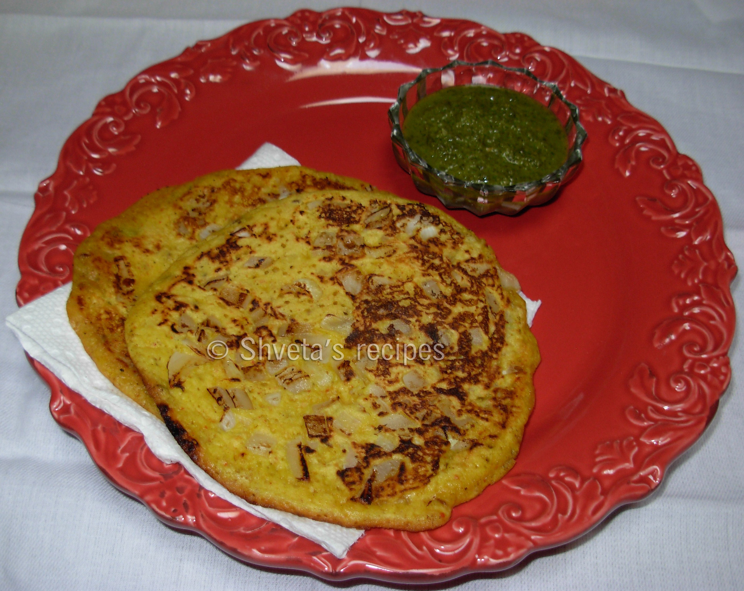 Moong dal Cheela: Savory crepe for breakfast