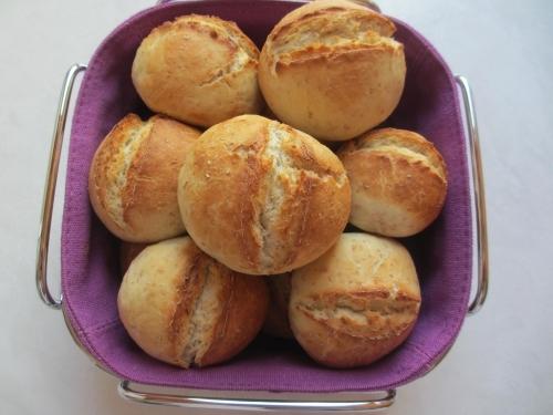 Petits pains minute de Manue