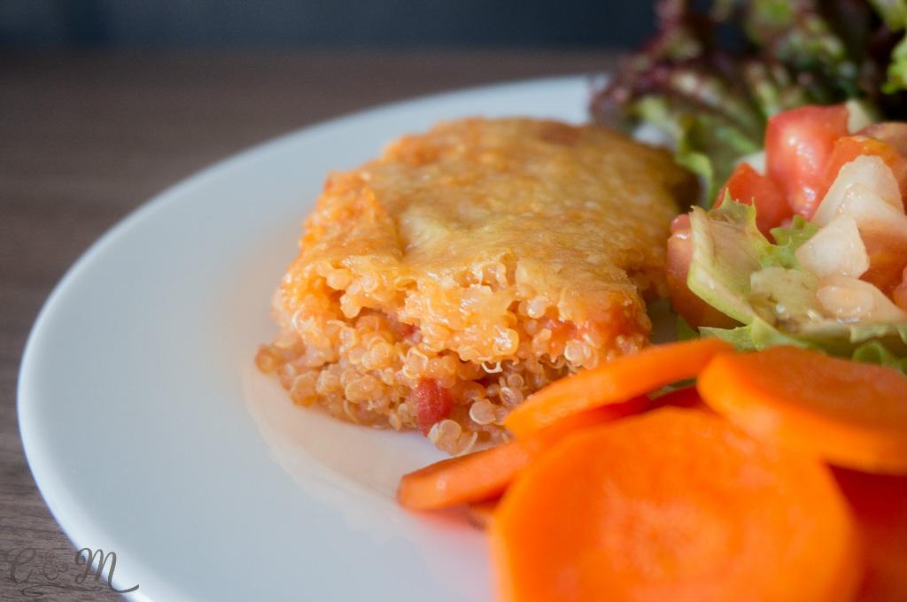 Lasanha de quinoa