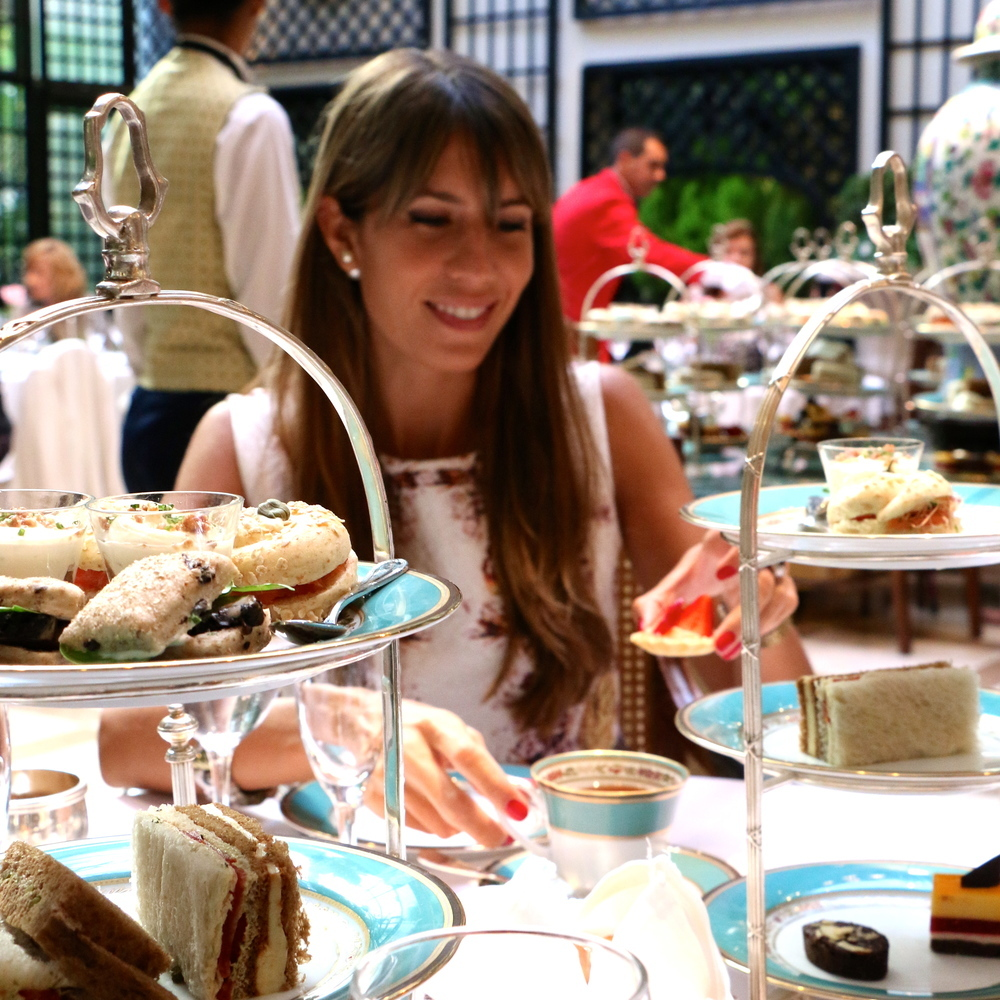 BA: L'Orangerie Afternoon Tea