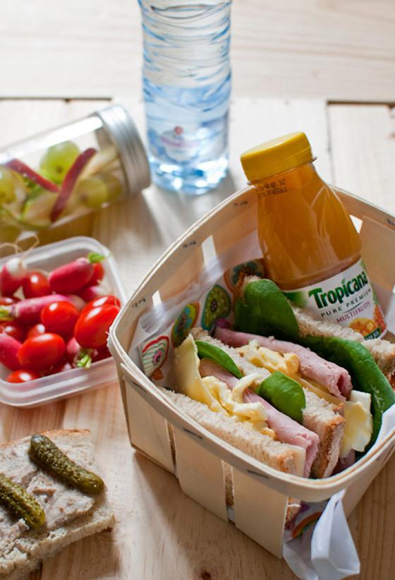 Quelques conseils pour vos repas du midi !