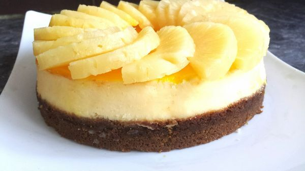 Cheesecake à l'Ananas