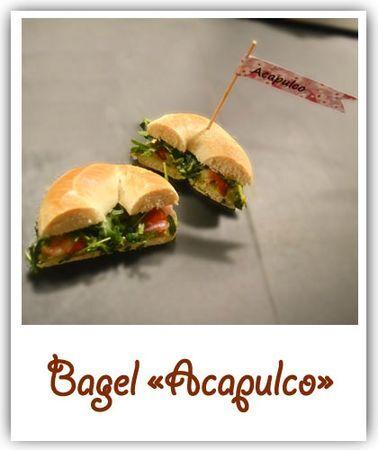"Bagel ""acapulco"""