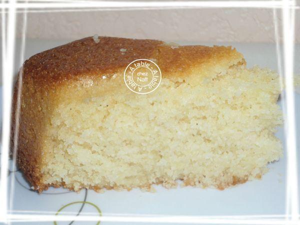 Gâteau facile à la semoule