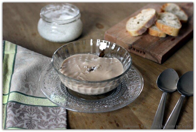 Crème de marrons aux épices douces et champignons des bois d'Anne-Sophie Pic
