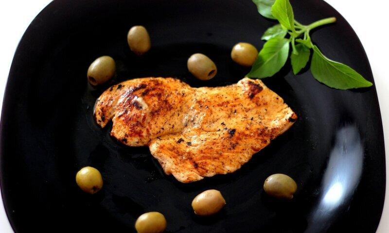 Escalope de poulet au citron ( fondante )