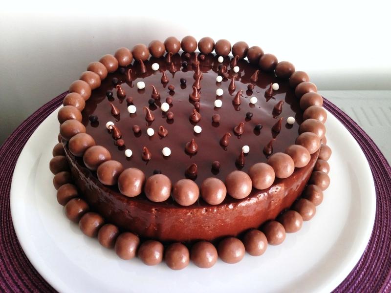 Entremet au Chocolat et au Nutella