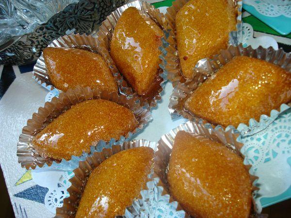 makrout m3assal ( gateau algerien)
