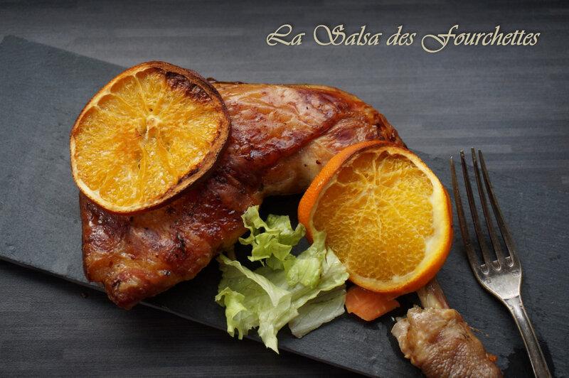 PINTADE A L'Orange et Au Cidre