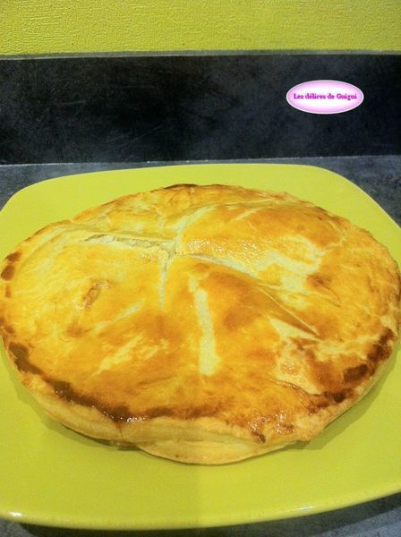 GALETTE DES ROIS POMMES SPECULOOS COCO
