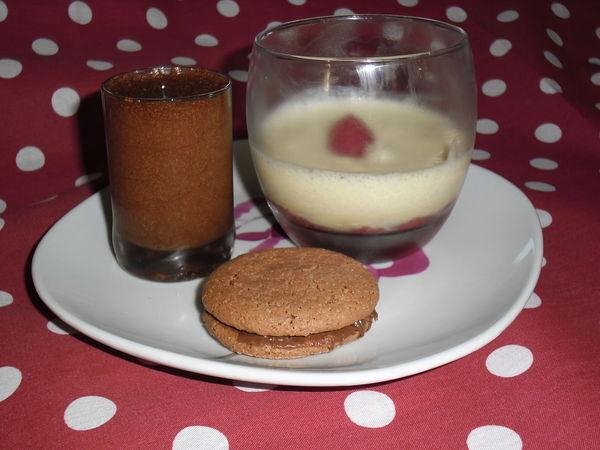 dessert café gourmand thermomix