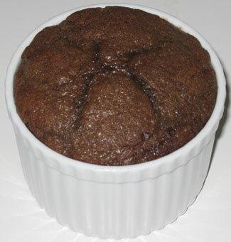 Chocolate Self-saucing puddings