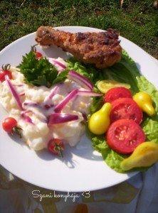 Majonézes burgonya saláta