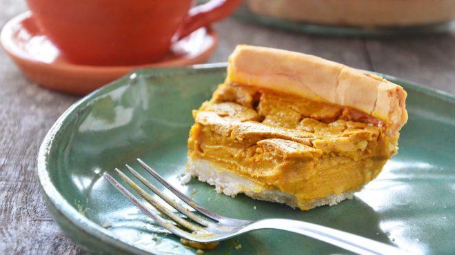 TORTA DOCE DE ABÓBORA