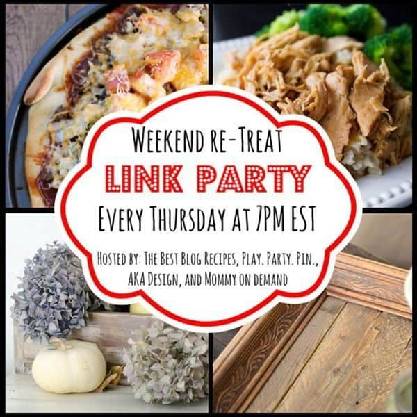 The Weekend re-Treat Link Party #91
