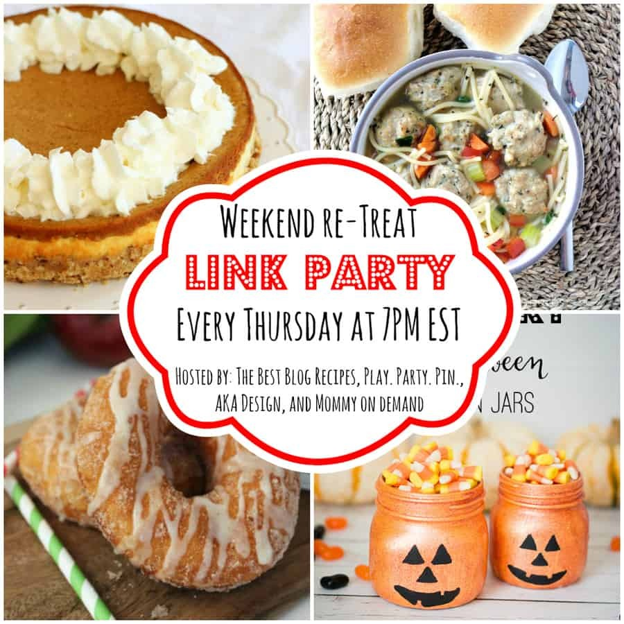 The Weekend re-Treat Link Party #90