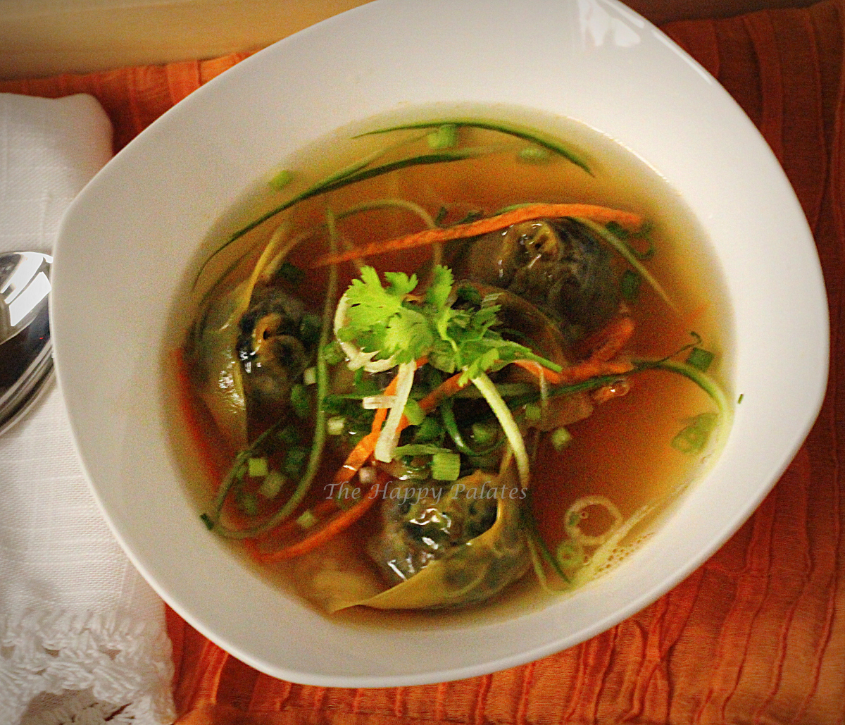 Vegetable Wonton Soup