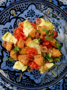 The Muddled Pantry wrote a new post, Fattoush (Moroccan Bread Salad), on the site The Muddled Pantry