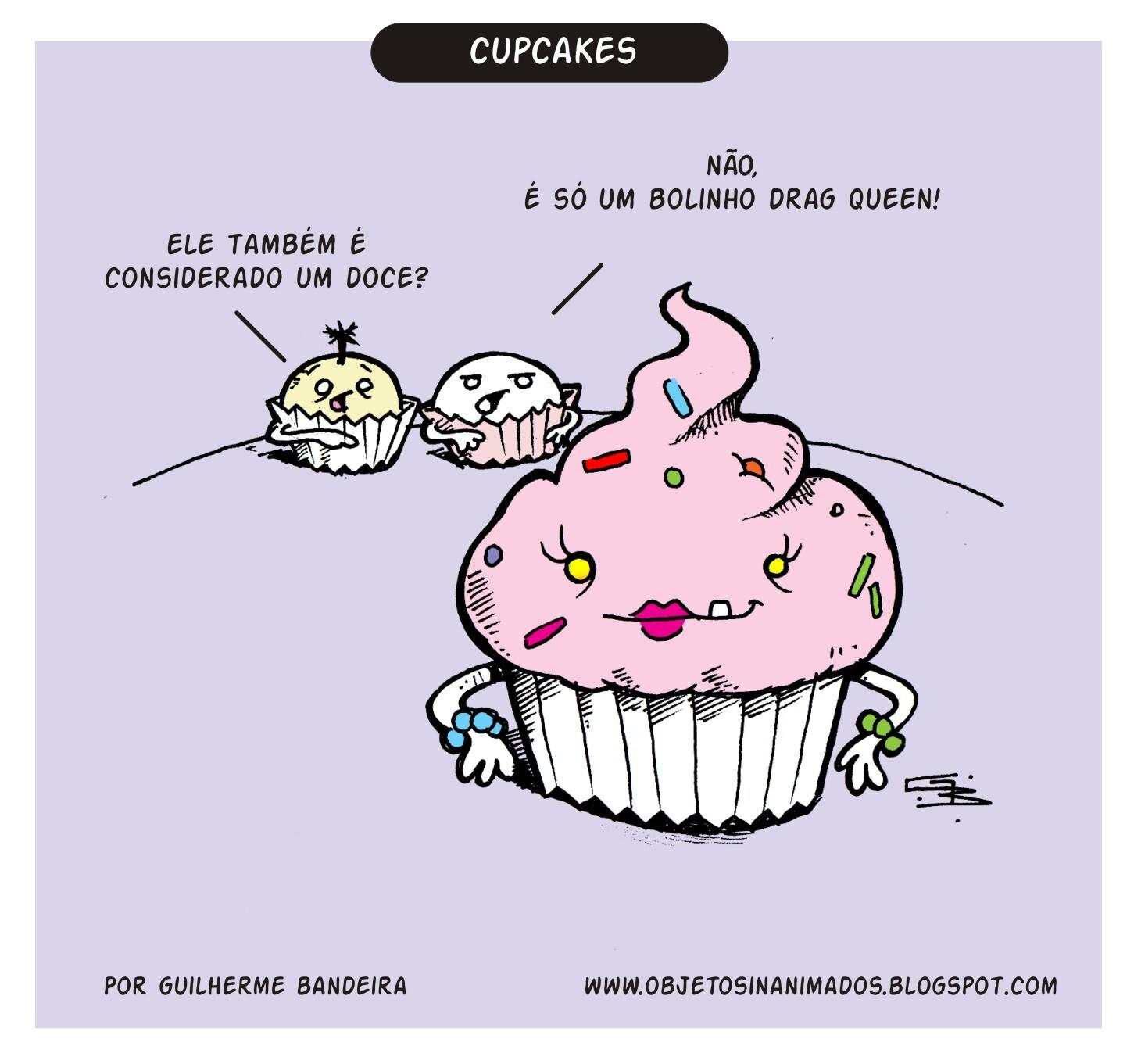 Diferenças entre cupcakes e muffin