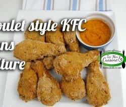 Poulet style kfc sans friture