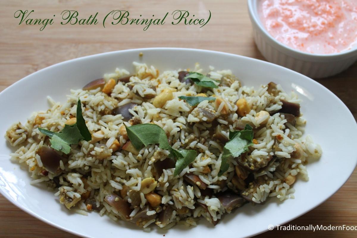 Brinjal Rice – Vangi Bath