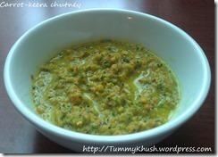 Carrot Kheera Chutney | TummyKhush