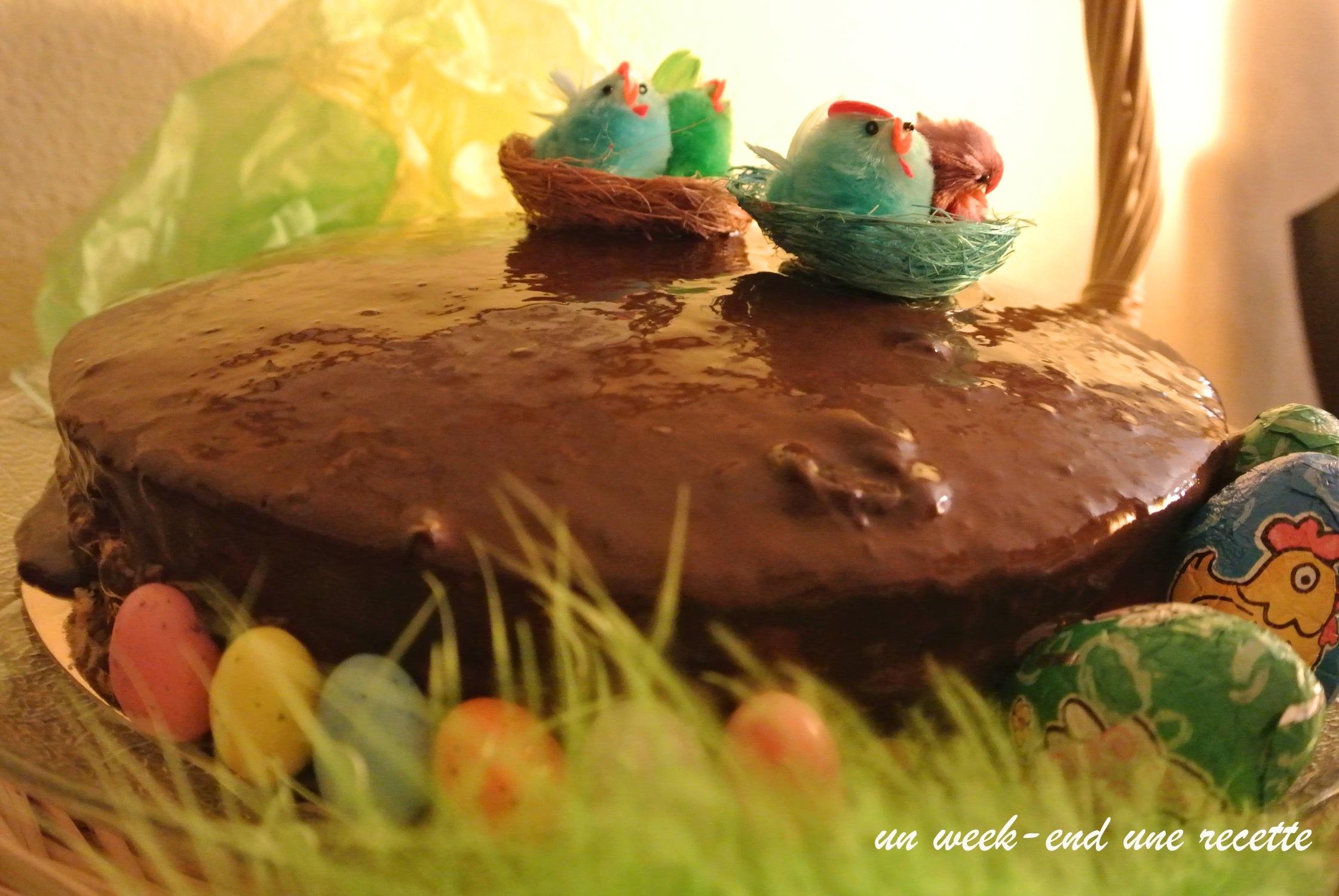 Mon gâteau de Pâques à la bière dodo et fleur d'oranger