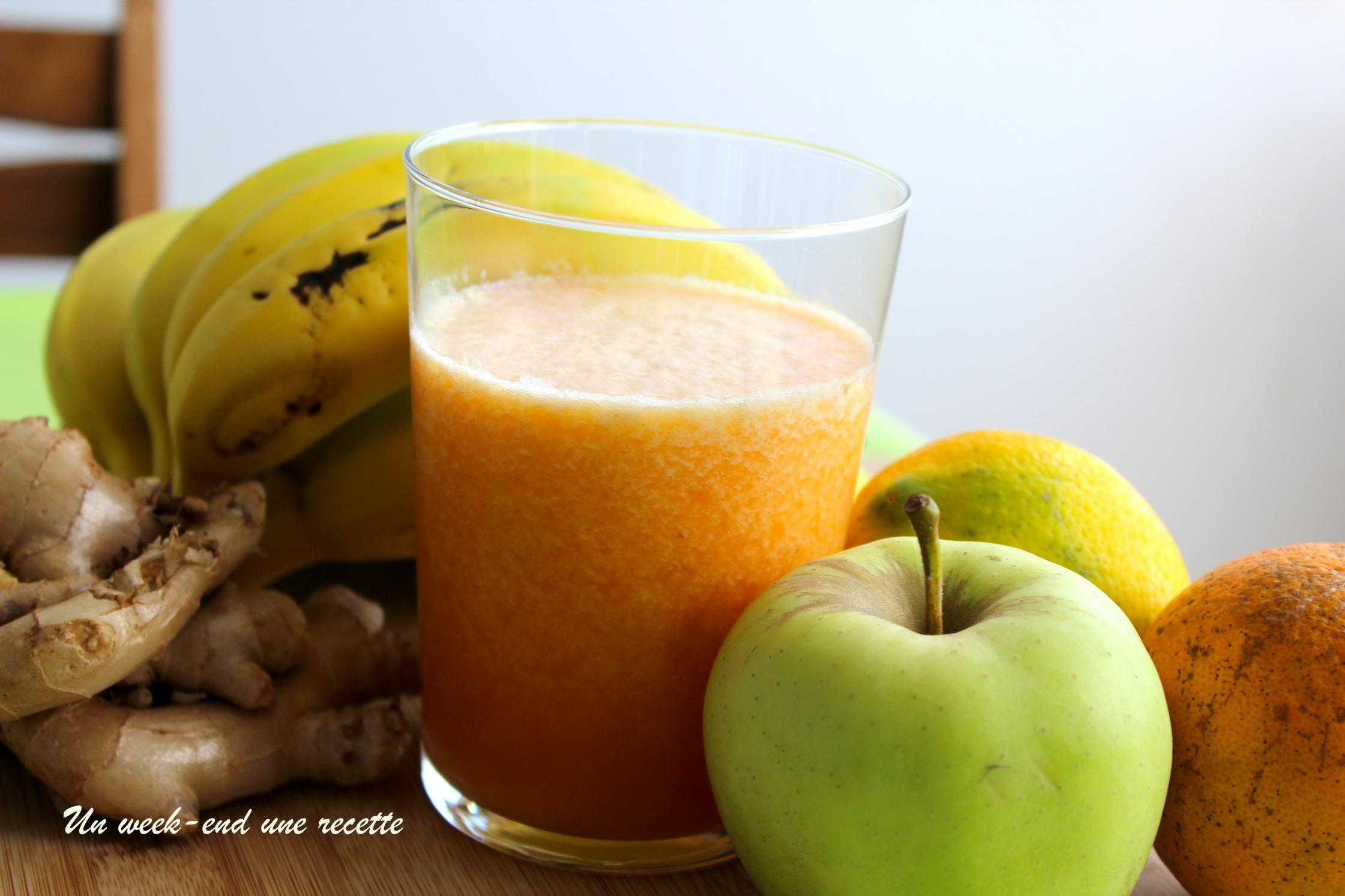 Cocktail de fruits frais vitaminé