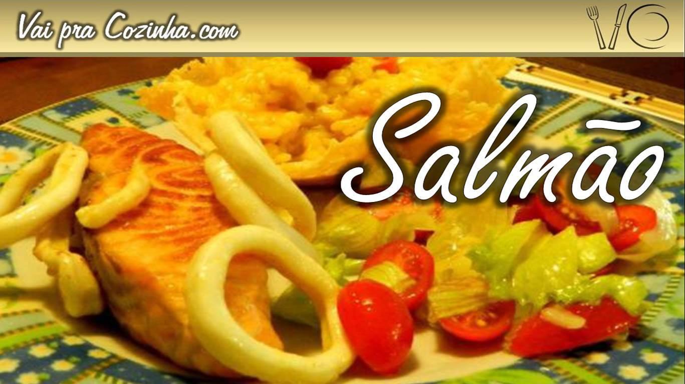 salmão no forno simples