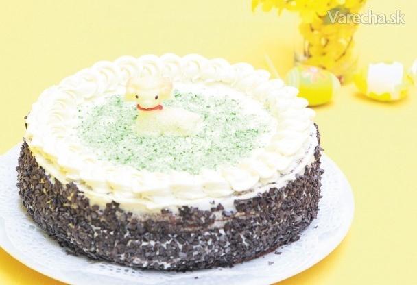 Veľkonočná torta s likérom
