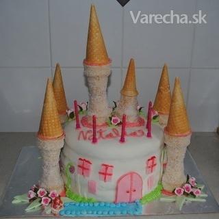 Torta - Princeznovský Zámok (fotorecept)