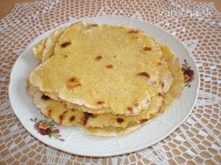 Bezlepkové corn tortillas - kukuričné placky (fotorecept)