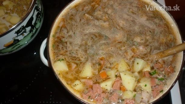 Šošovicová polievka a lá Bogar :) (fotorecept)