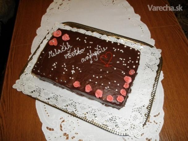 Dobošová torta pre môjho manžela (fotorecept)